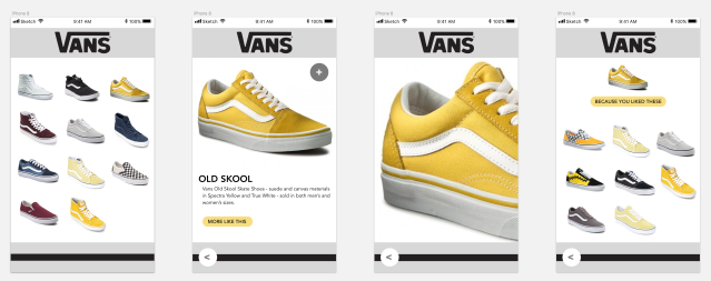 Vans App Screenshot 2